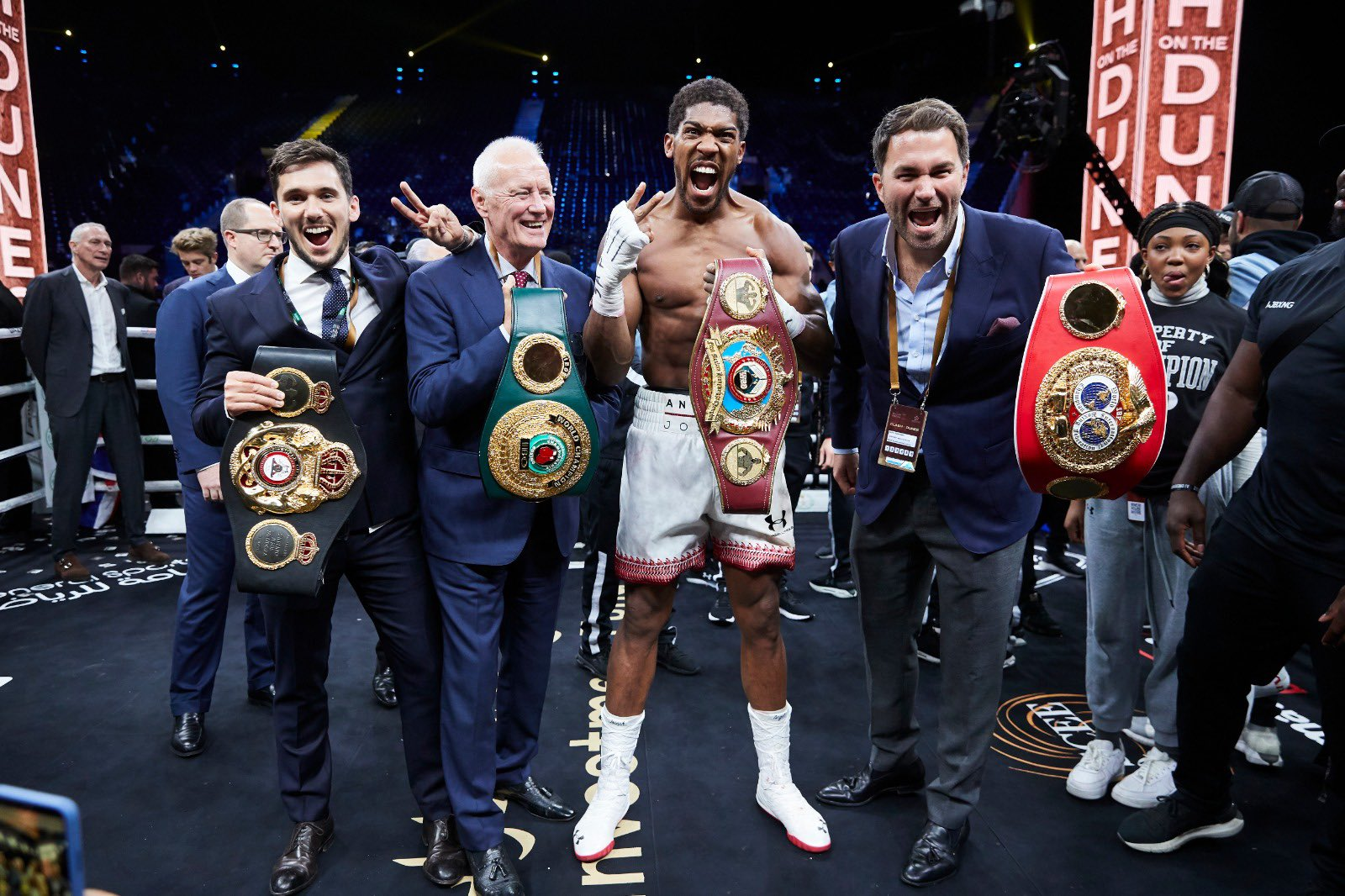 Hearn Talks up Joshua, Fury Future Fight As Gypsy King's Promoter Rejects Sparring Session