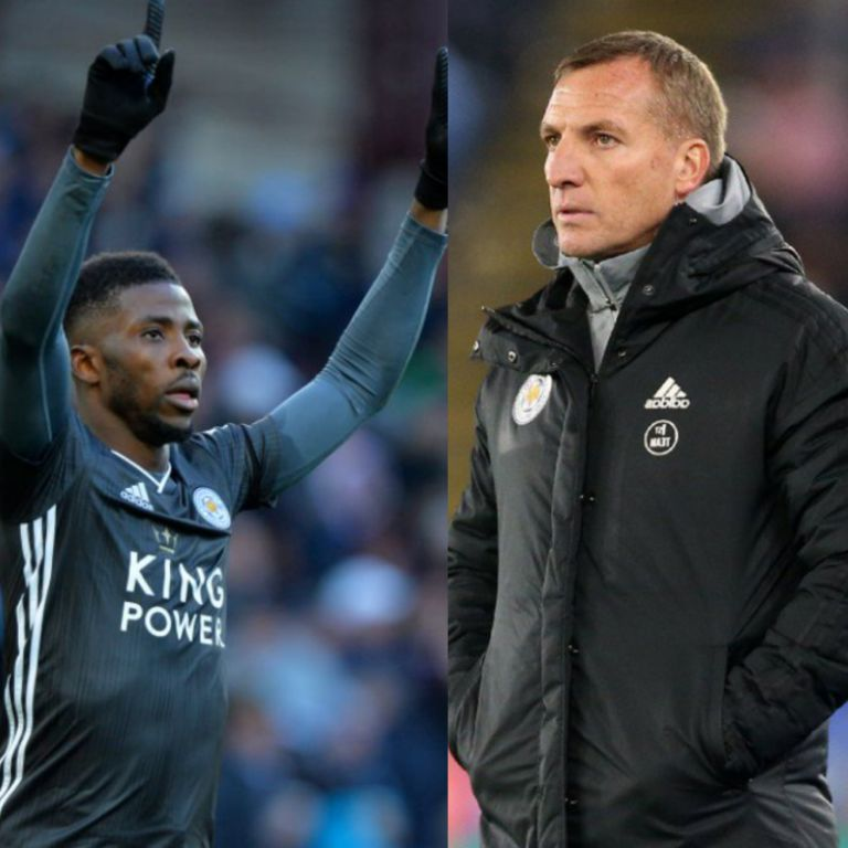 Rodgers: 'Iheanacho Going Nowhere, Will Stay at Leicester Beyond January'