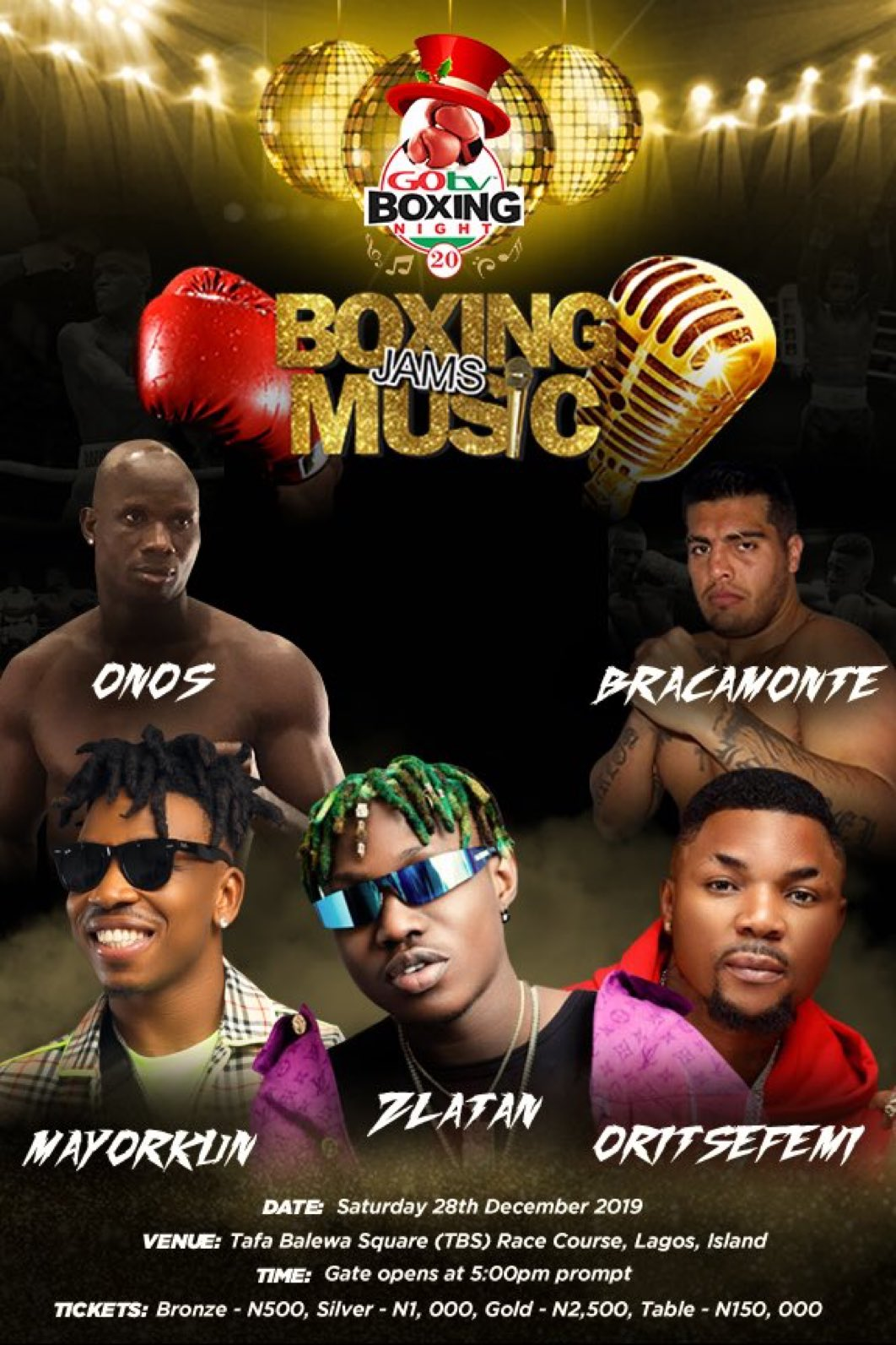 GOtv Boxing Night 20: Argentina's Chiquito Vows to Beat Godzilla To WBF Title