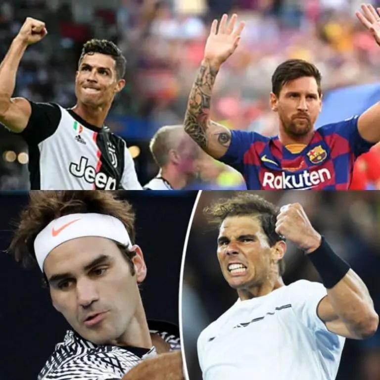 Messi v Ronaldo And Federer v Nadal:  Tennis Superstar Rejects Rivalries Comparison
