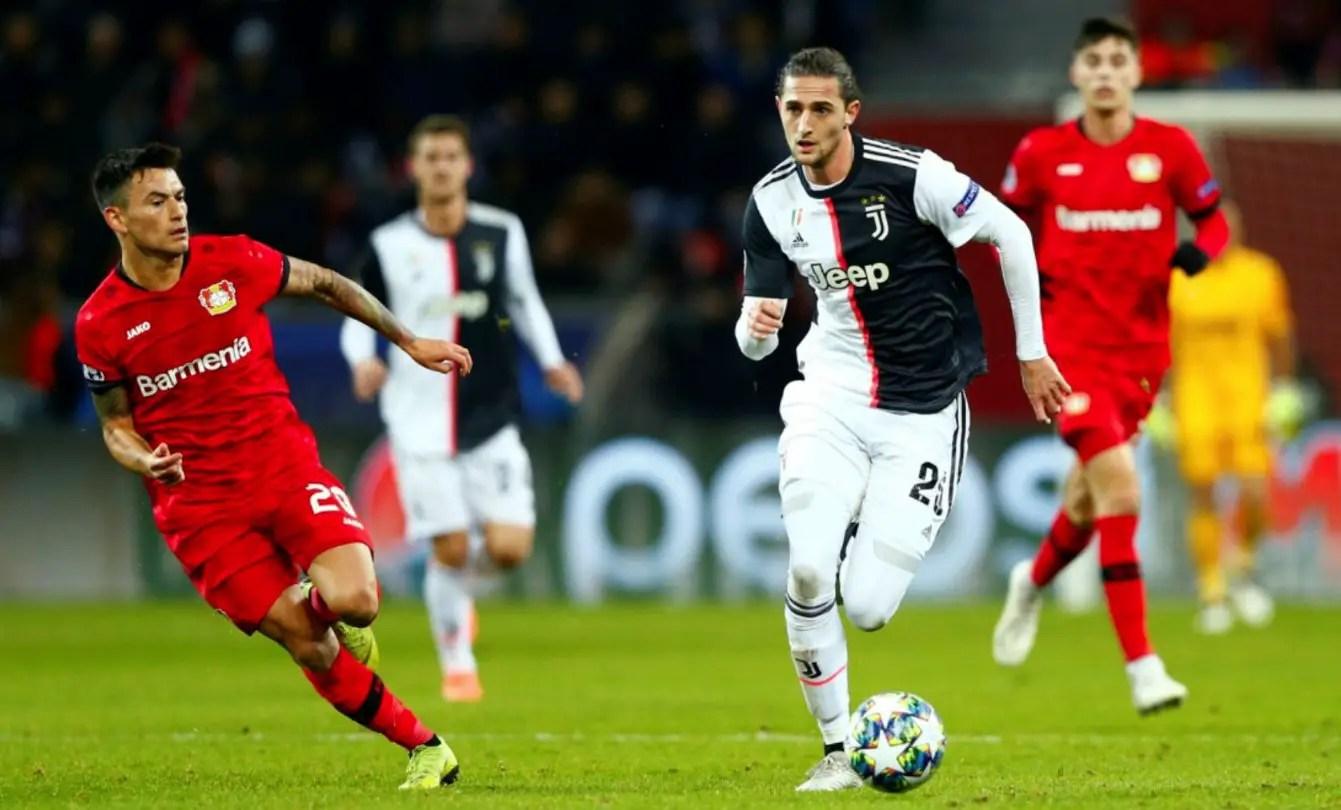 Arsenal Target Loan Move For Juventus Midfielder Rabiot