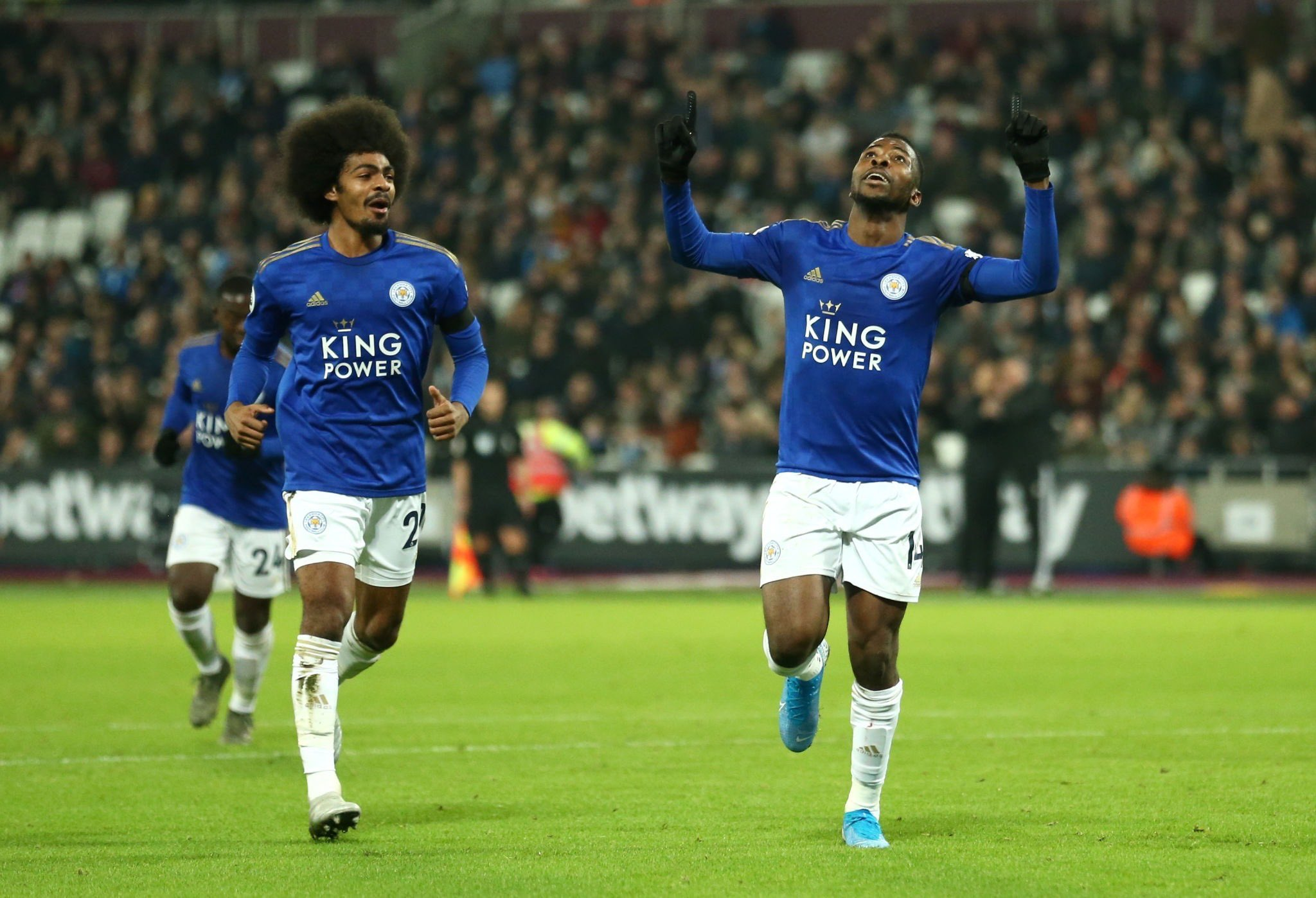 Iheanacho On Target In Leicester Win At West Ham; Spurs Force Norwich To Draw