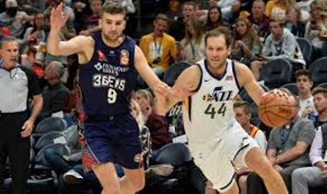 Jazz And Bojan Bogdanovic Will Host Lakers At Vivint Smart Home Arena