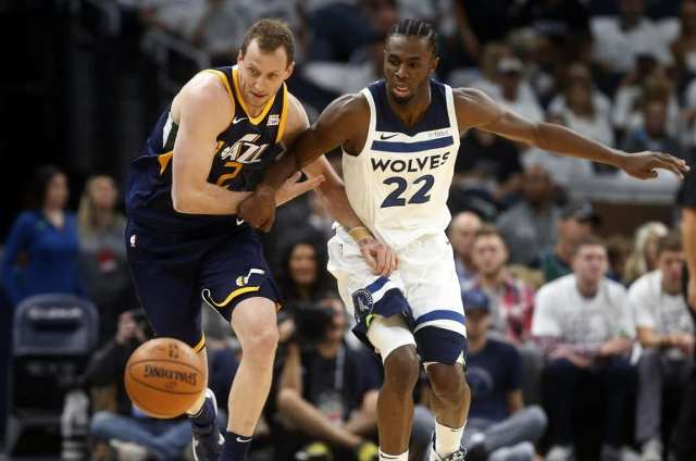 Jazz Come To Town To Meet Karl-Anthony Towns And Wolves, At Target Center