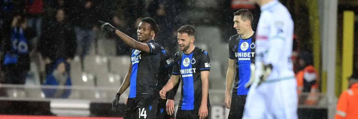 Belgian League: Okereke Grabs Brace As Club Brugge Thrash Zulte-Waregem