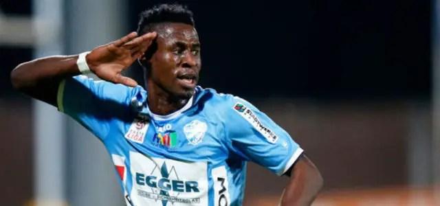 Nigerian Striker Nets Brace In Austria Wien's Friendly Win