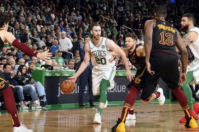 Celtics And Gordon Hayward Will Host Spurs At TD Garden