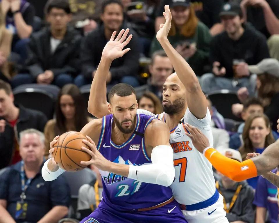 Donovan Mitchell Drops 16 Points, Jazz Beat Knicks 128-104 At home