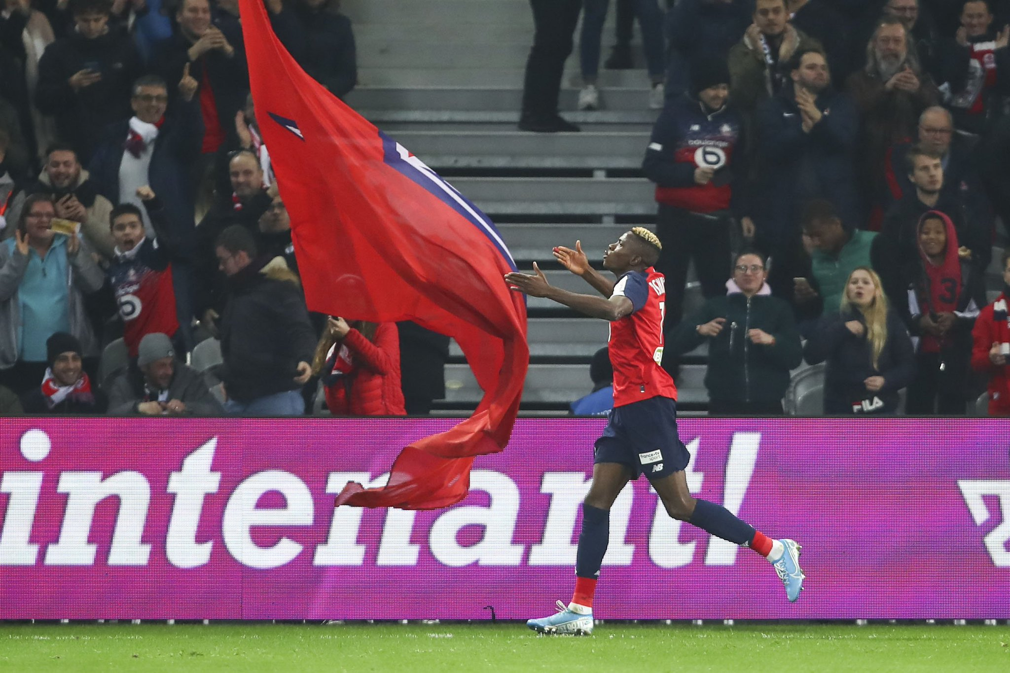 Eagles Roundup:  Osimhen, Iheanacho On Target   For Lille, Leicester City