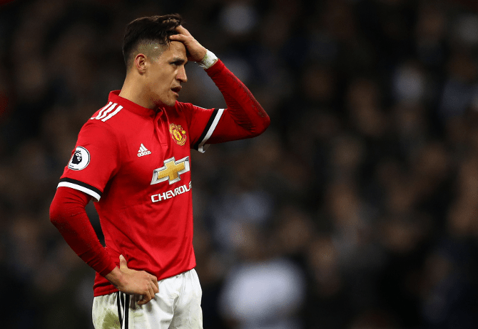 Man United Rule Out Sanchez Permanent Transfer To Inter