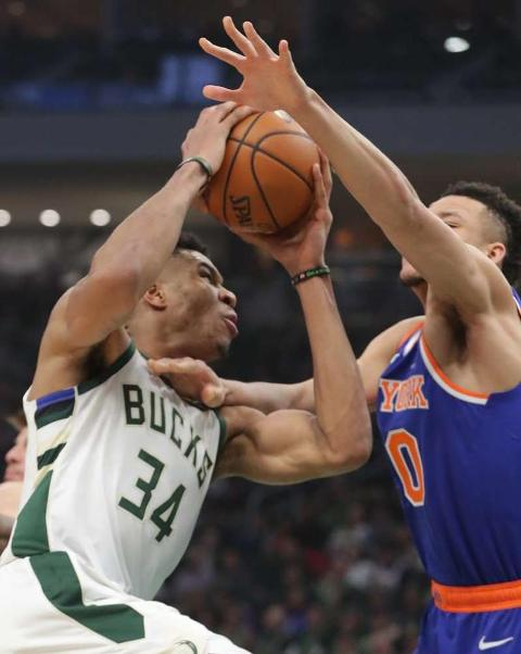 Great Shooting Night For Giannis Antetokounmpo With 37 Points As Bucks Beat Knicks 128-102 At Home