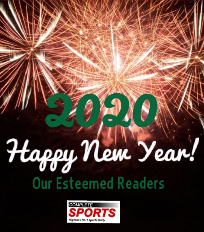 Happy New Year & Welcome to New Decade     –Complete Sports