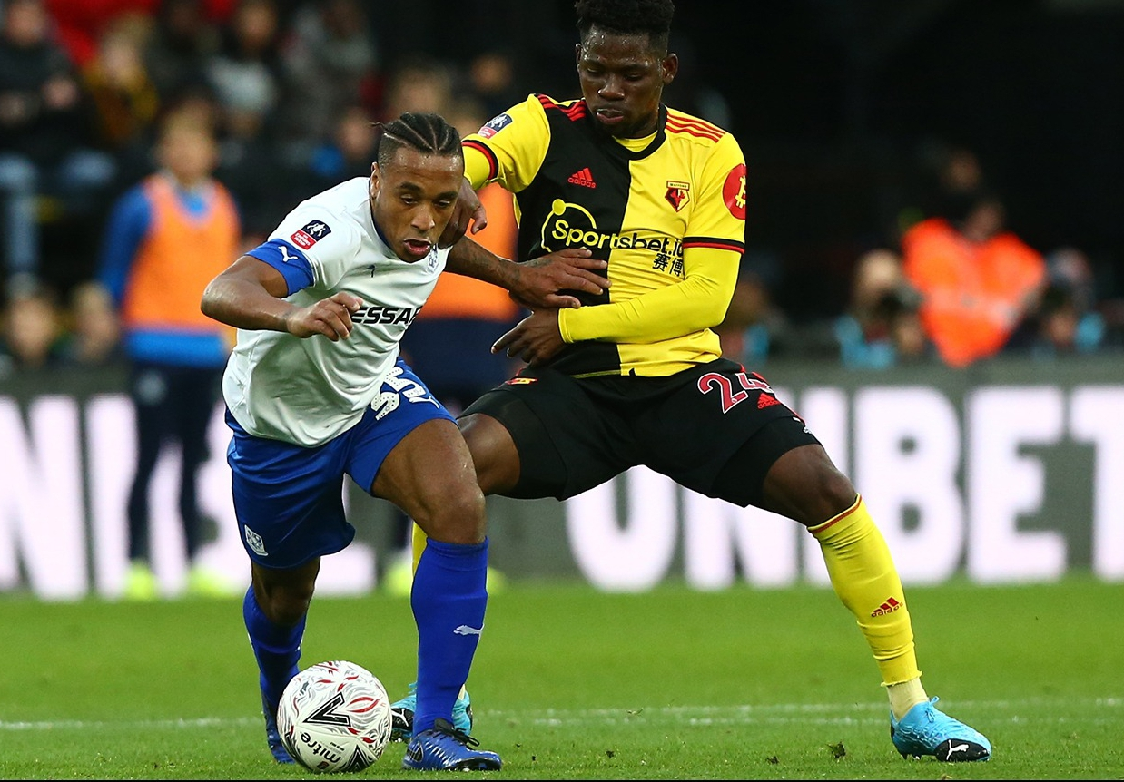 Dele-Bashiru Relishes 1st 90 Mins For Watford, Rues Draw With Tranmere