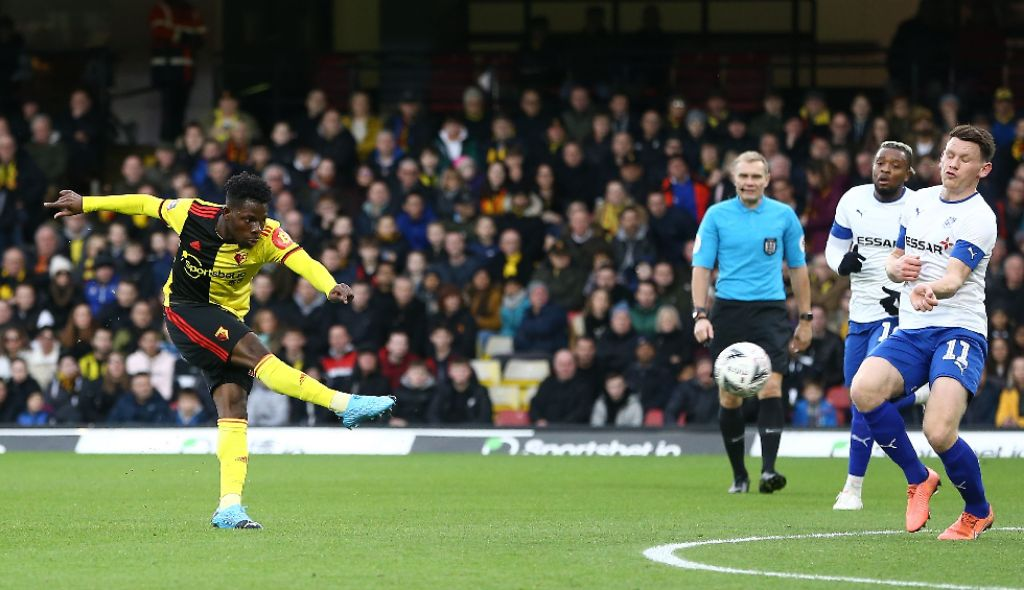 FA Cup: Balogun Subbed Off In Brighton's Home Loss; Dele-Bashiru Scores, Success Bags Assist In Watford Draw