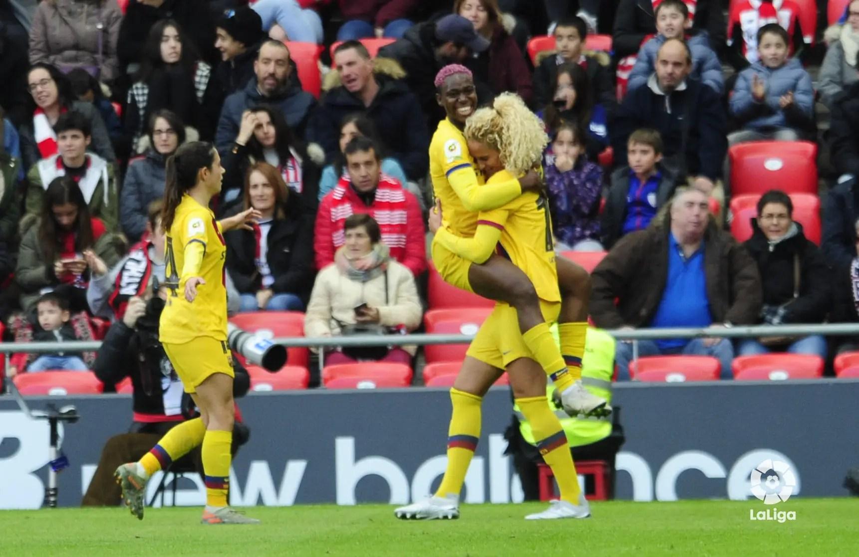 LaLiga Celebrates Oshoala After Netting Brace In Barcelona Ladies Away Win