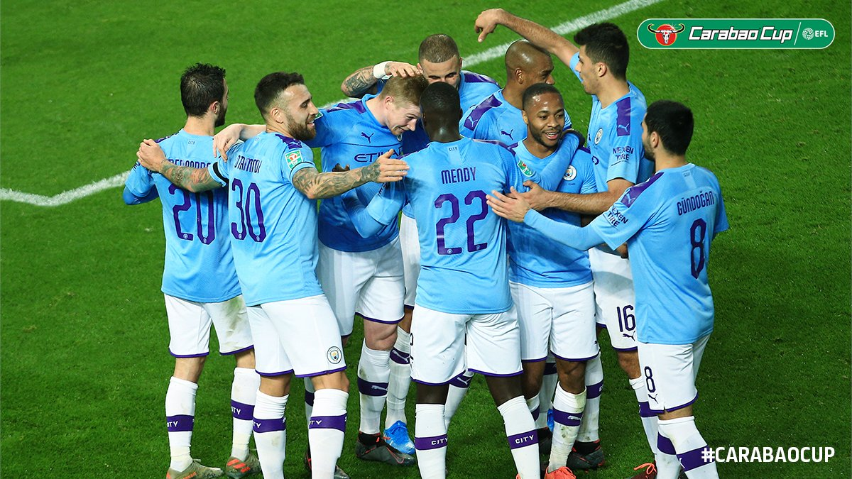 Carabao Cup: Man City Outclass Man United At Old Trafford In 1st-leg Semi-final