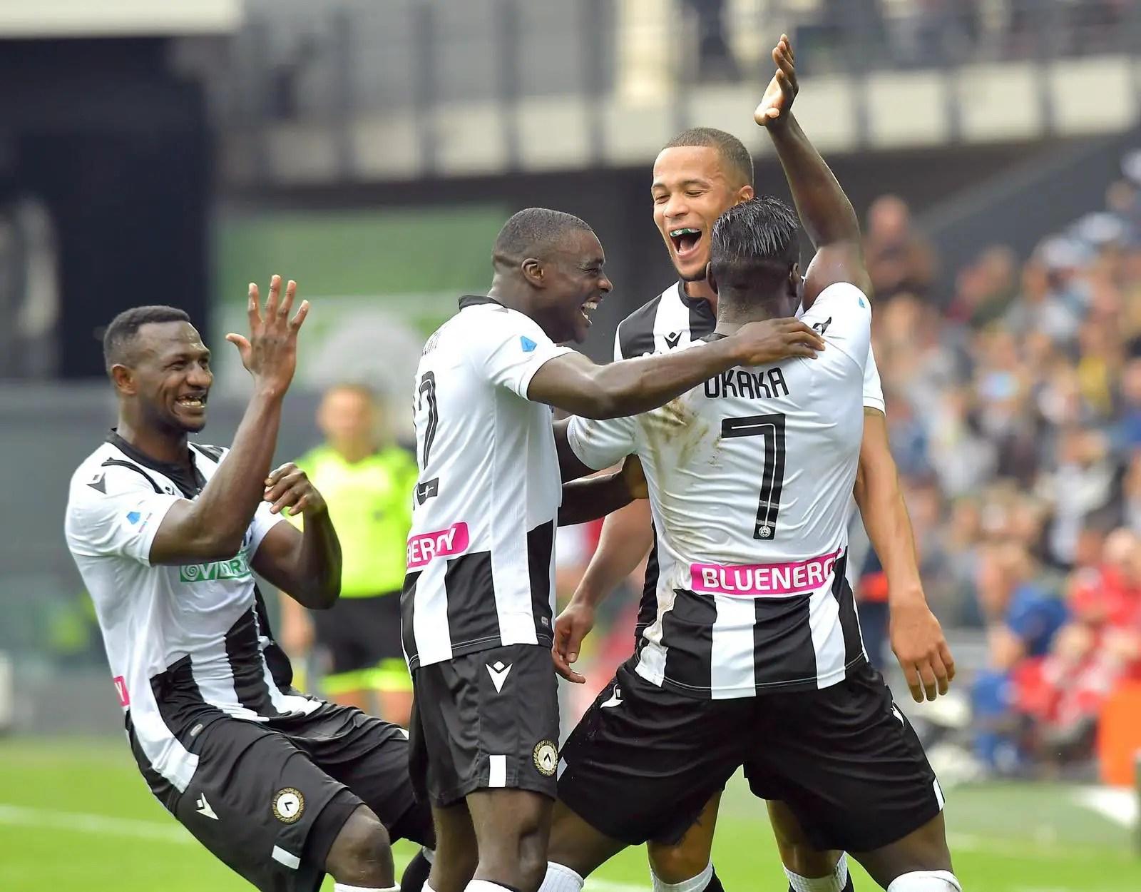 Troost-Ekong Celebrates Udinese's Winning Streak