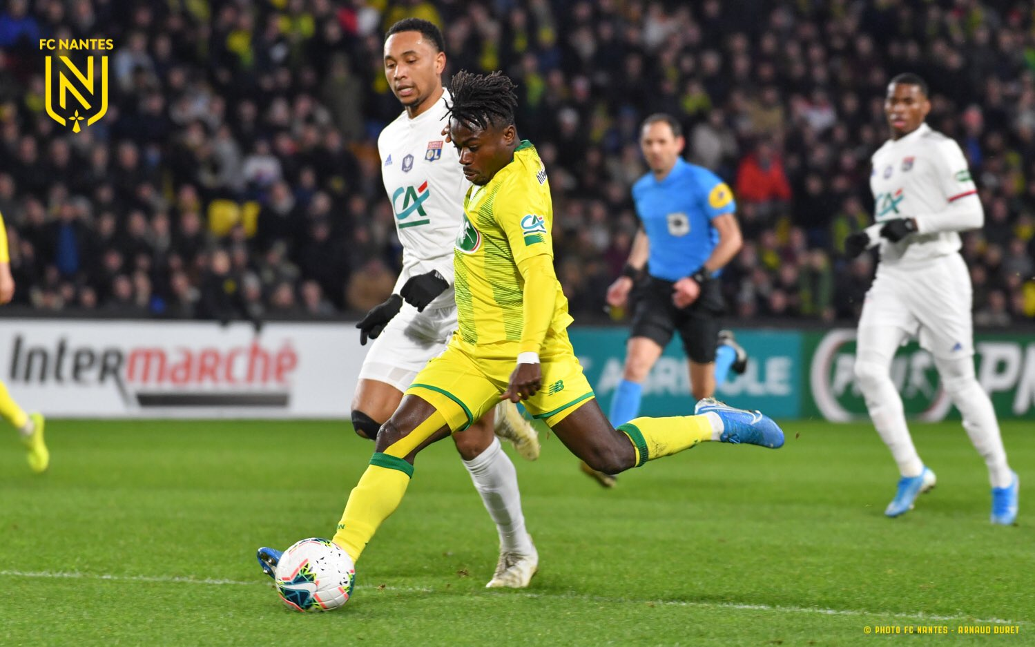 Simon Wins Nantes' August Player Of The Month Award