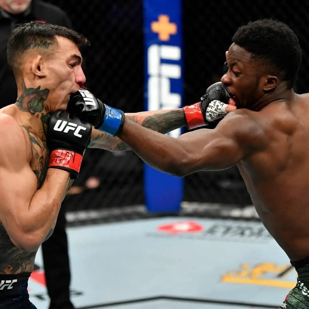 Nigeria's Yusuff Vows To Land UFC World Title