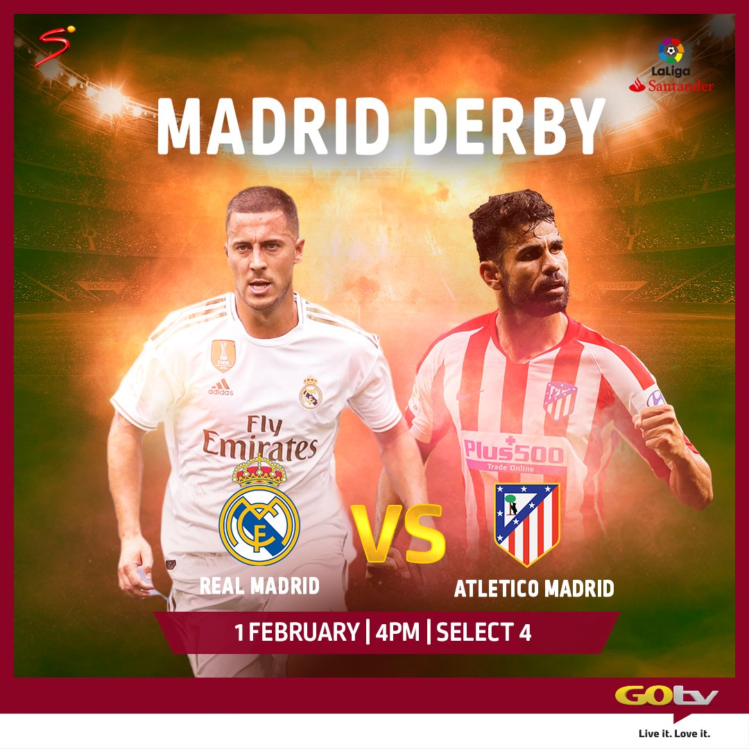 Madrid Derby, EPL Games To Air On GOtv This Weekend
