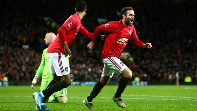 Emirates FA Cup:  Man United Edge Wolves To Advance Into 4th Round