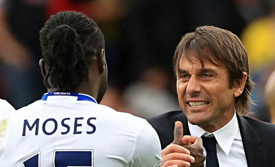 Conte Targets Moses Reunion At Inter Milan