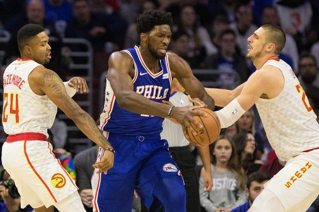 76ers And Joel Embiid To Host Hawks At Wells Fargo Center