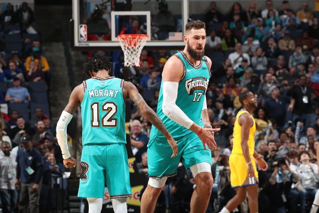 Grizzlies And Jonas Valanciunas To Host Blazers At FedEx Forum