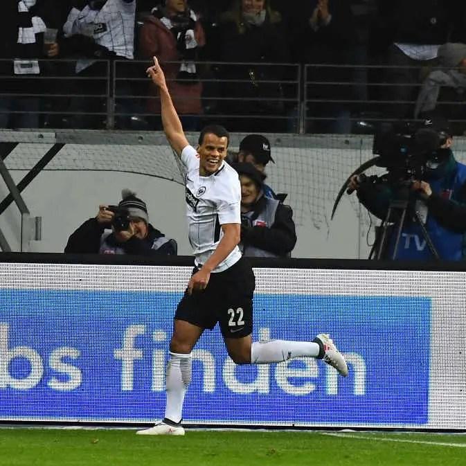 Eintracht Frankfurt Scoring Defender, Chandler: 'I'm Having Fun, No Pressure'