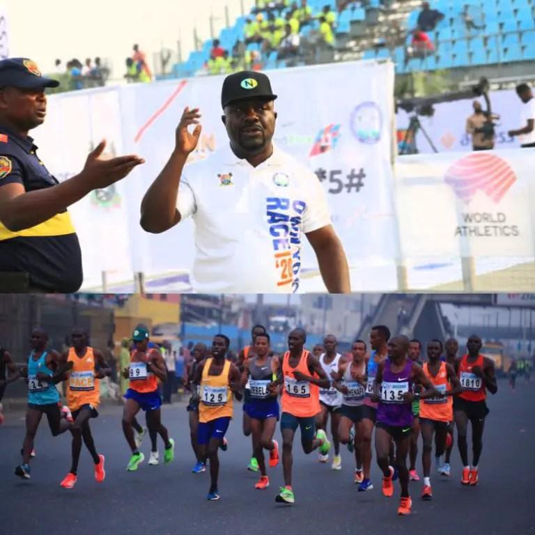 Access Bank Lagos City Marathon: Olopade Hails AFN Boss' Contribution