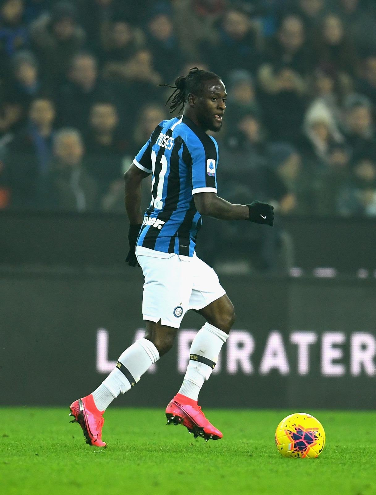 Coronavirus Scare For Moses, Aina; Four Serie A Games Postponed