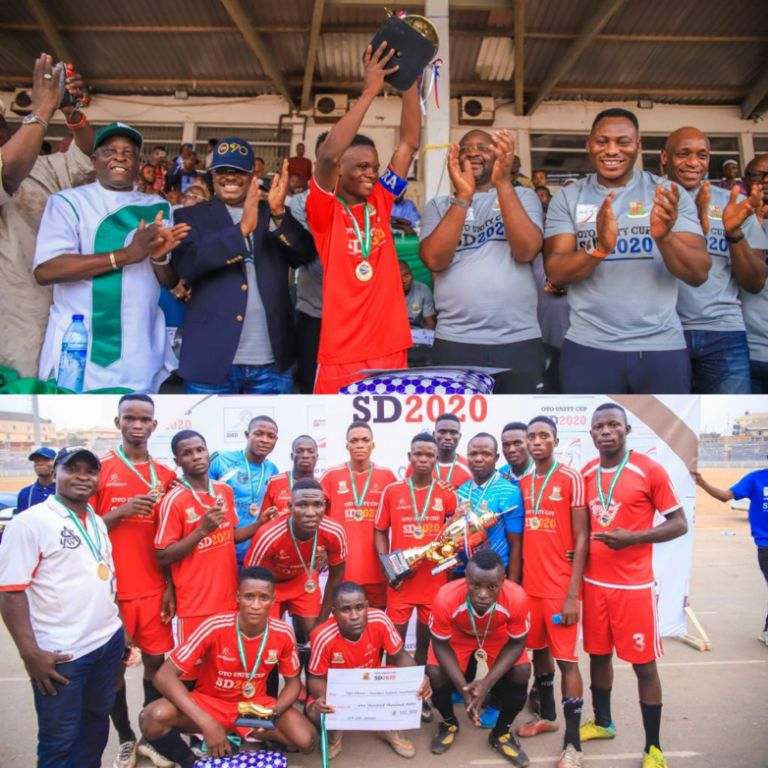 Oyo Unity Cup: Ogo Oluwa/Surulere Win;  Dare delighted as Ex-Eagles Show Support