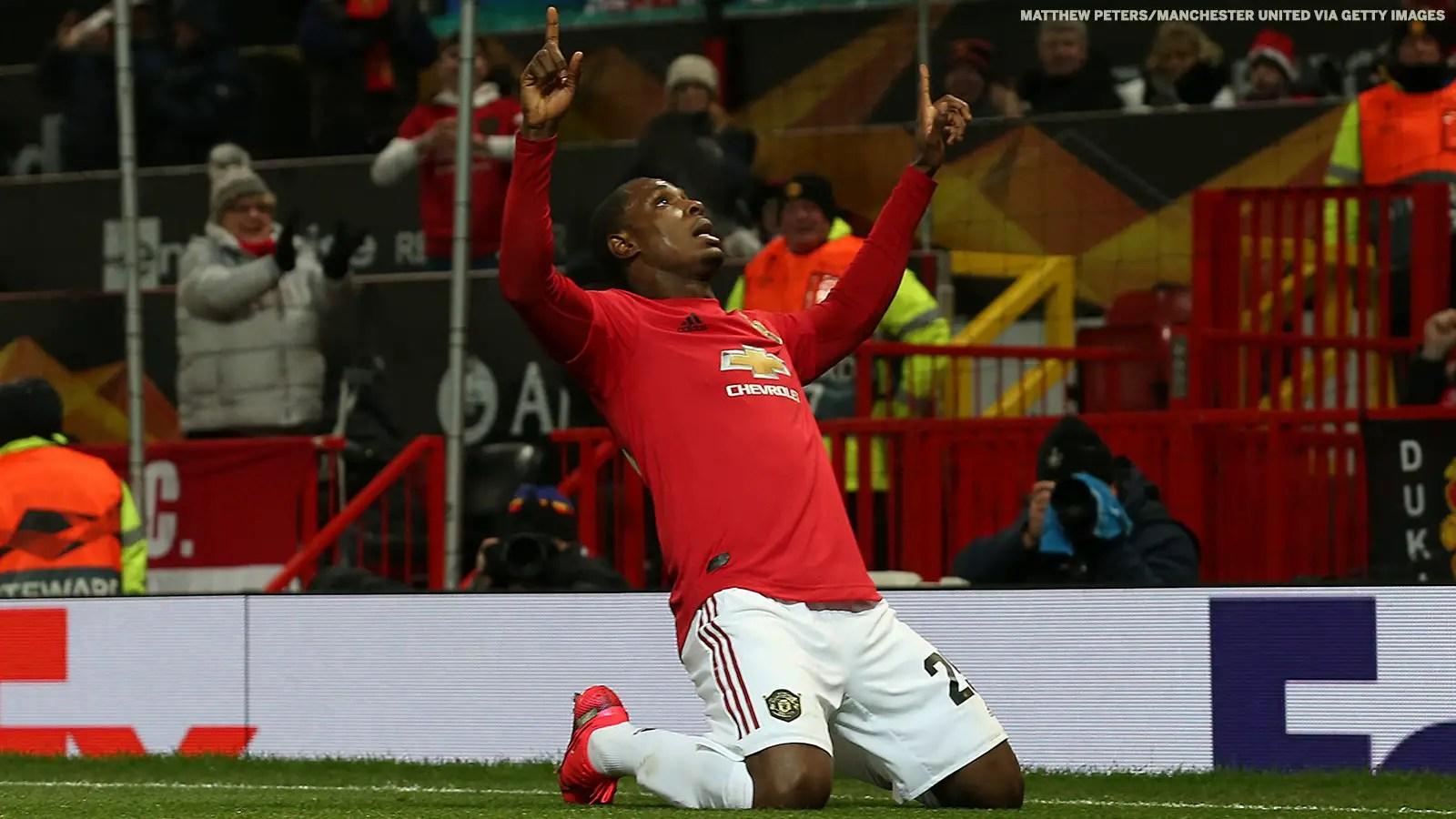 Ferdinand Congratulates Ighalo On First  Man United Goal