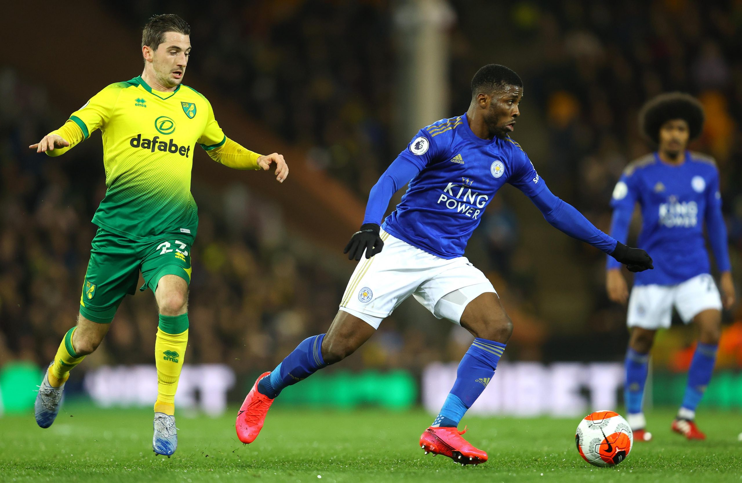 EPL: Iheanacho Denied By VAR As Norwich City Pip Leicester 1-0 At Carrow Road