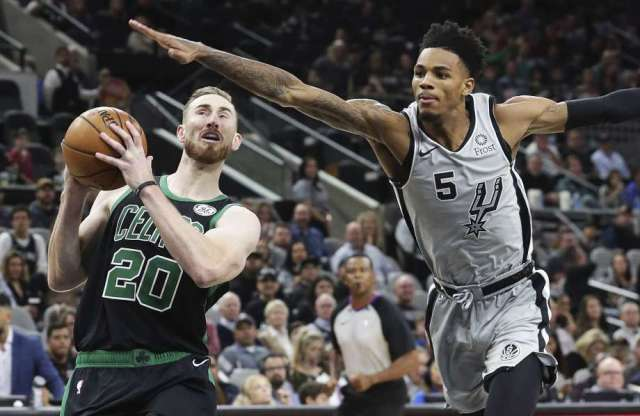 Spurs And Dejounte Murray To Host Mavs At At;T Center