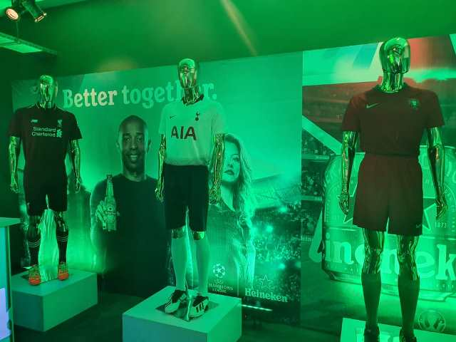 """Europe's Most Prestigious Club Competition Returns As Heineken® Launches """"Better Together"""" Campaign."""