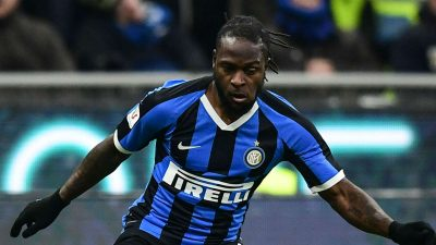 Moses In Action, Azeez Benched As Inter, Granada Lose Cup Ties