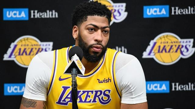 Lakers And Anthony Davis To Host Pelicans At STAPLES Center