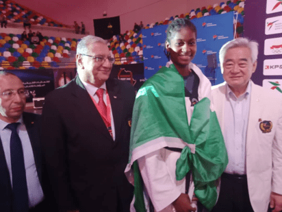Taekwondo: Nigeria's Anyanacho Clinches Tokyo Olympics Ticket At African Qualifiers