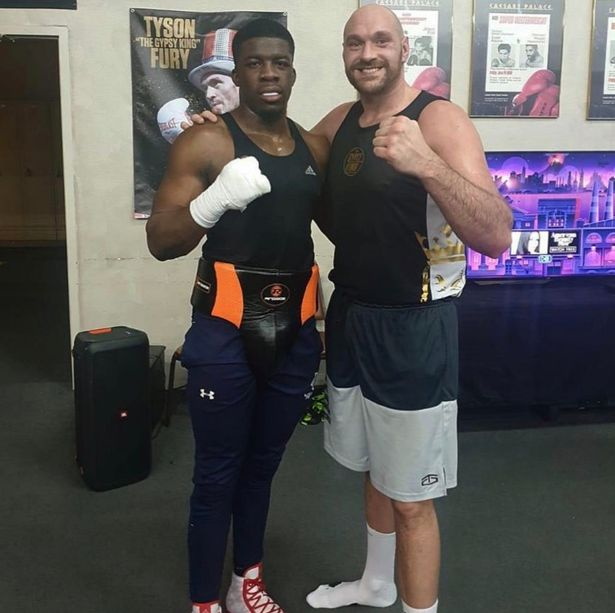 Nigerian- Born Boxer Adeleye Opens Up Fury Training Camp Experience, Eyes World Title