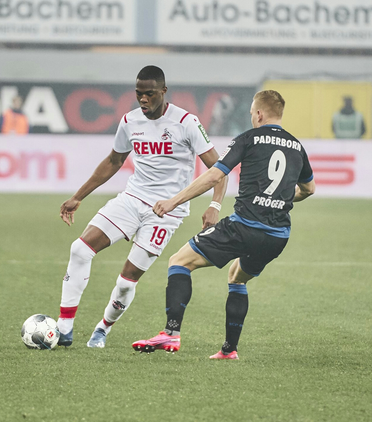 Bundesliga: Ehizibue In Action As FC Cologne Beat Collins' Paderborn Away