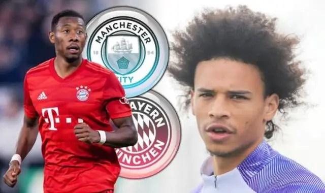 Bayern To Offer Man City Alaba Plus £50m For Sane