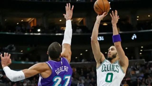 Celtics And Jayson Tatum To Host Jazz At TD Garden