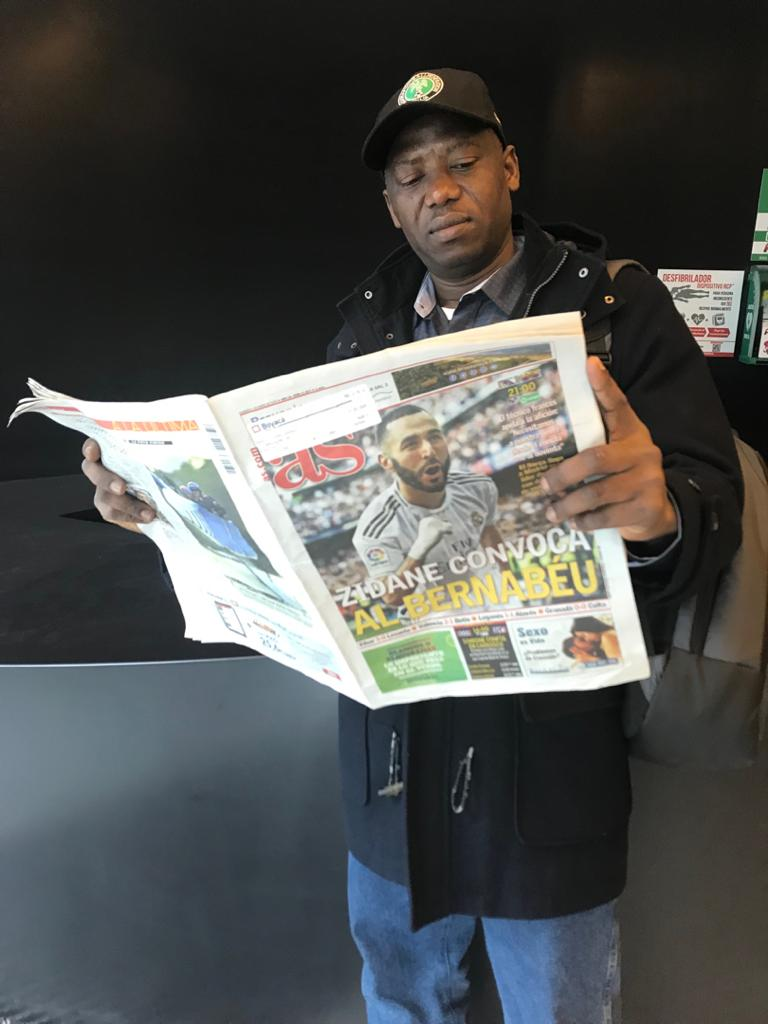 Complete Sports' Alao Watches As 'Zidane Summons The Bernabeu' to Down Barca