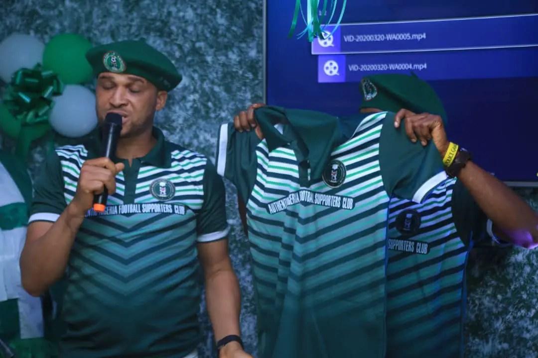 Authentic Nigeria Football Supporters Club Open Secretariat In Lagos