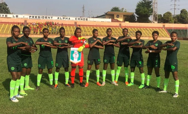 U-17 W/Cup Qualifier: Flamingoes Thrash Guinea In Conakry
