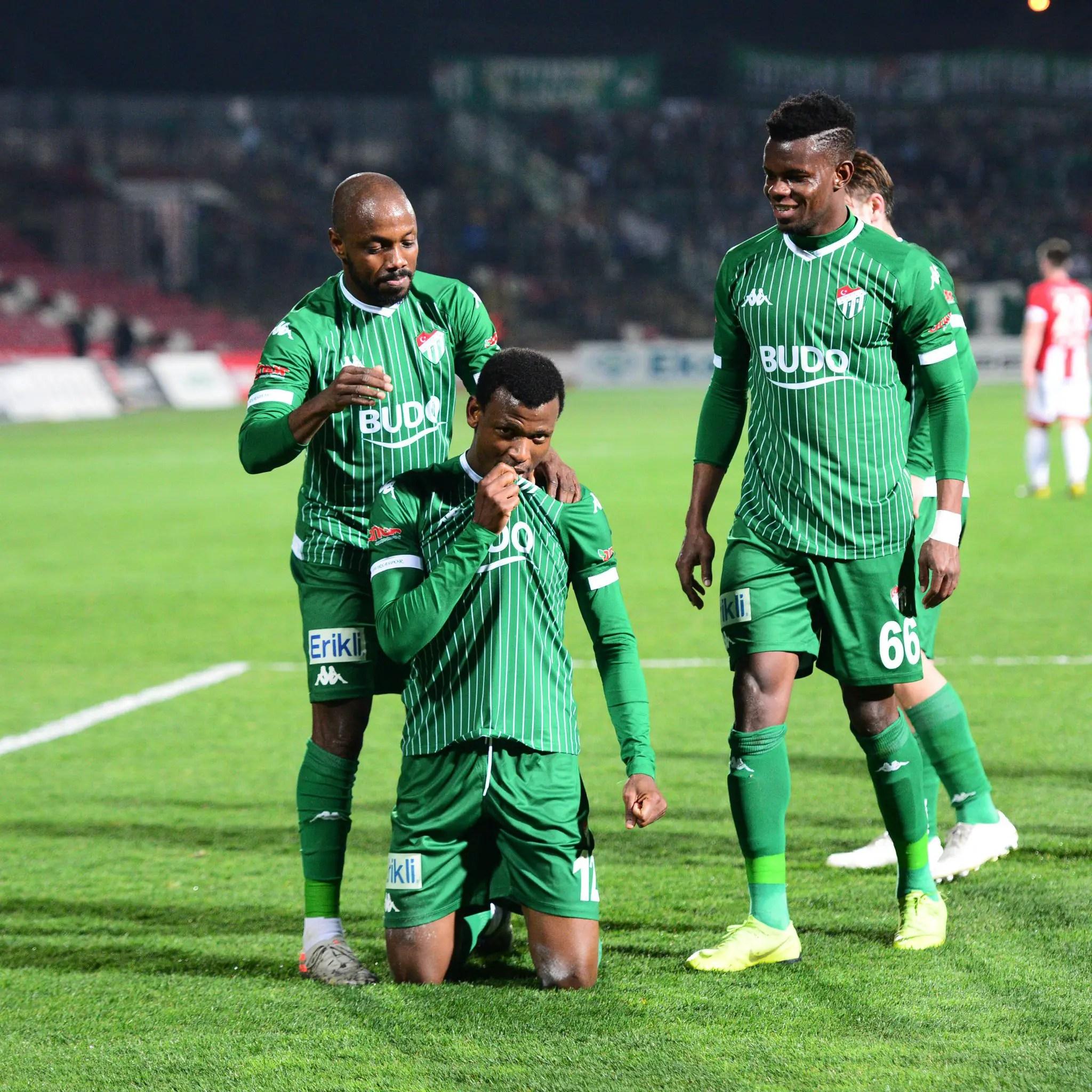 Abdullahi  Dedicates Goal In Away Win Vs Balikesirspor To Bursaspor Fans