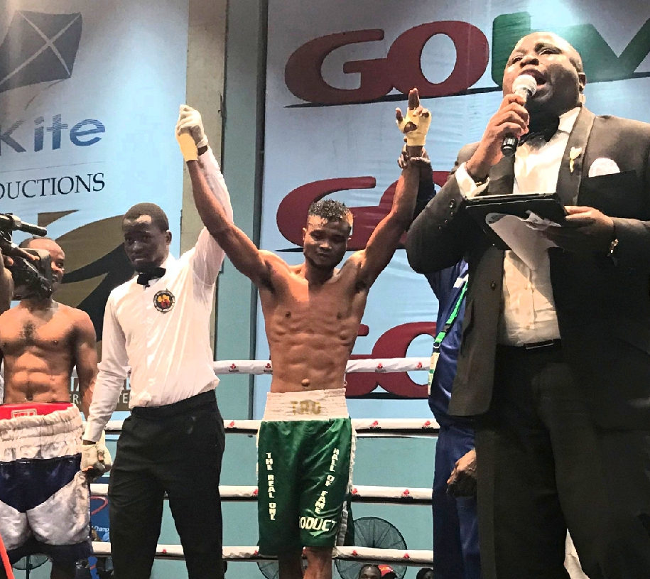GOtv Boxing Night 21: 'Real One' Vows To Rip Ghana's Quartey Apart