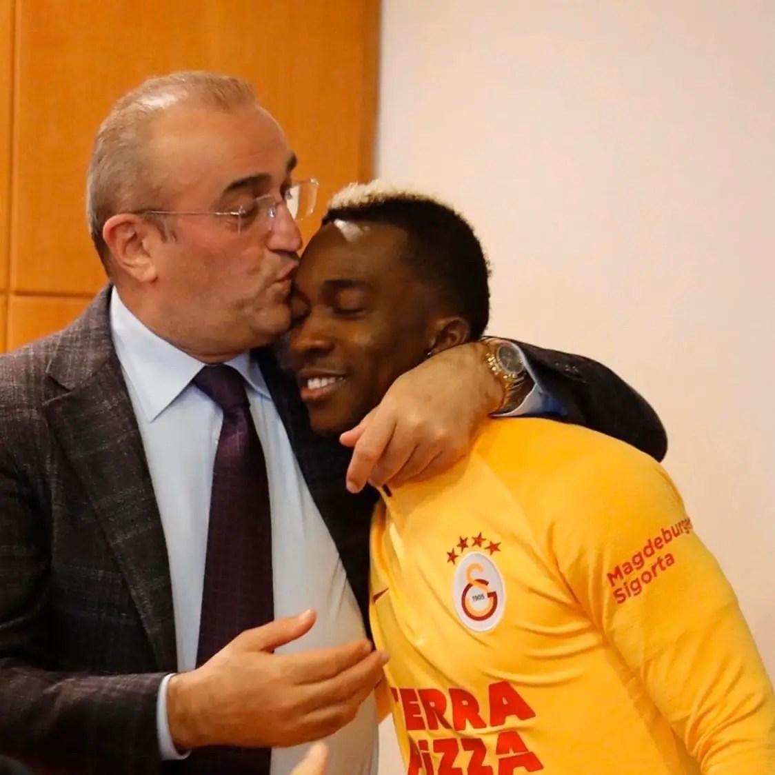Coronavirus: Onyekuru Sends  Message To Galatasaray Vice President After Positive Test