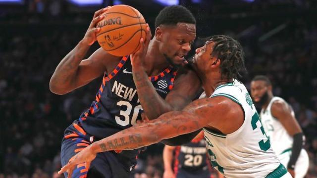 Knicks And Julius Randle To Host Thunder At Madison Square Garden